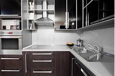 cuisine couleur wengé cuisine moderne dans des couleurs de noir et de wenge