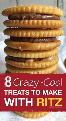 8 cool treats to make with ritz crackers quick easy snacks