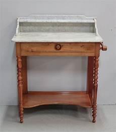 Table De Toilette En Merisier Massif 1920 Antiquites
