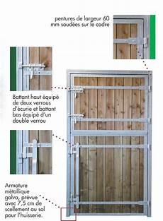 Porte Pour Chevaux 2 Battants Pro Bois Douglas