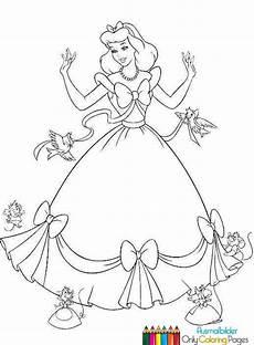 Malvorlagen Cinderella Easy Prinzessin Cinderella Ausmalbilder Ausmalbilder F 252 R