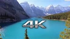 4k wallpaper nature screen endless looping 4k moraine lake banff alberta