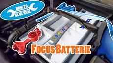 anleitung ford batterie wechseln ausbauen