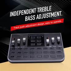 Modes Studio Audio Mixer Microphone Webcast by ซาว นการ ดแปลงส ญญาณเส ยง F8 4 Modes Studio Audio Mixer