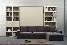 libreria letto a scomparsa space saving furniture clever