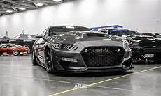 2015 2017 mustang terminator style carbon fiber hood by