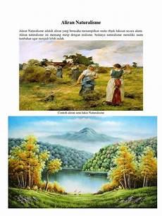 Contoh Lukisan Naturalisme Paimin Gambar