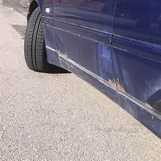 rost am auto entfernen w202 reparatur mercedes