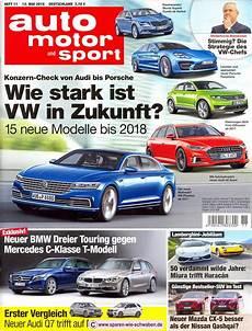 Abo Pr 228 Mie Testbericht Zeitschrift Abo Auto Motor Und