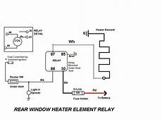 heat relay wire diagram i a 1969 e type series 2 f h c my question is i am trying to wire in the new heated rear