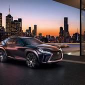 Wallpaper Lexus UX Luxury Crossover Concept Cars Paris