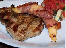 grilled prosciutto wrapped cantaloupe_image