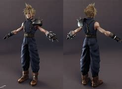 Image result for Cloud Strife FF7 Original Model