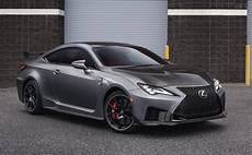 2020 lexus rc f gets launch track edition cuts