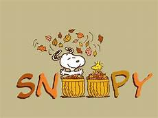 Fall Backgrounds Snoopy