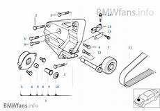 Klimakompressor Anbauteile Riementrieb Bmw 3 E46 320d