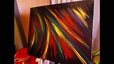how to paint easy contemporary abstract on canvas