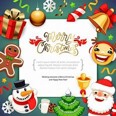 premium vector merry christmas background with copy space