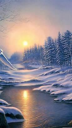 iphone 8 wallpaper winter winter landscape wallpaper 80 pictures