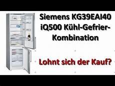 siemens kg39eai40 iq500 kühl gefrier kombination siemens kg39eai40 iq500 k 252 hl gefrier kombination test 2018