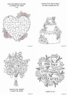 Free Printable Wedding Coloring Books Free Printable Wedding Colouring Sheets For