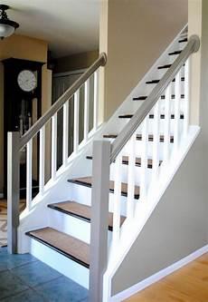 treppengeländer holz innen 23 treppengel 228 nder streichen ideen treppengel 228 nder innen treppe haus und treppe streichen