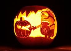 Carve The Best Pumpkin To Win Minion Pumpkin Carving