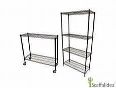scaffali alluminio scaffali metallici componibili socepi su misura e in kit