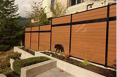 Composite Fencing Ezfence Composite Board And Aluminium