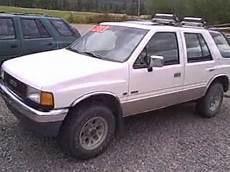 how it works cars 1993 isuzu rodeo free book repair manuals 1993 isuzu rodeo avi youtube