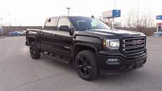2017 gmc sierra 1500 sle crew cab quot elevation edition quot onyx black youtube