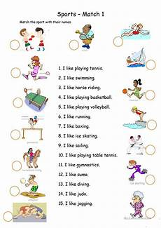 sports worksheets for toddlers 15796 8 free esl swimming worksheets