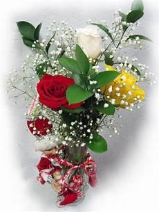 vase de fleurs avec lutin maison montcalm fleuriste