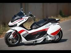 Motor Pcx Modifikasi by Modifikasi Gaul Keren Motor Honda Pcx
