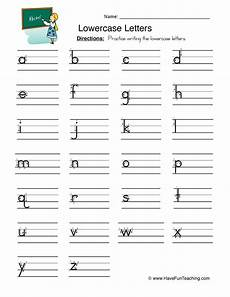 handwriting worksheets uppercase and lowercase 21595 lowercase letters writing worksheet teaching