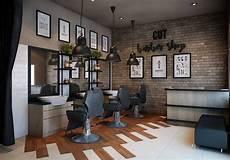 Photo Aditya Wira Hardi Design Interior Barbershop Design