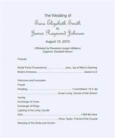 26 wedding ceremony program templates psd ai indesign pdf doc free premium templates
