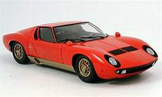 lamborghini miura p400 rot 1974 kyosho modellauto 1 18