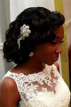 Hair Style For Wedding Black Hair