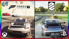 forza motorsport 7 vs driveclub xbox one x vs ps4 pro