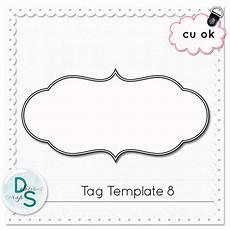 delicious scraps free cu tag template