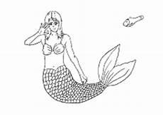 Kinder Malvorlagen Meerjungfrau Ausmalbilder Meerjungsfrauen Nixen Arielle