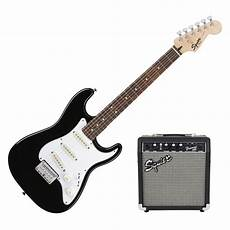 squier stratocaster by fender fender squier strat pack ss scale guitar pack black at gear4music