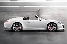 2018 Porsche 911 Speedster Expected At Frankfurt