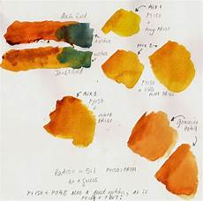 blundell a question of hues s gold watercolor art lessons watercolor palette