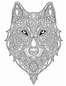 Malvorlagen Wolf Craft Ausmalbilder Erwachsene Wolf 699 Malvorlage Erwachsene