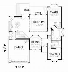 house plans daylight basement main floor plan of mascord plan 1201 the alden