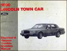 electric and cars manual 1993 lincoln town car user handbook 1990 lincoln town car electrical and vacuum troubleshooting manual