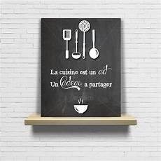 tableau pour cuisine articles similaires 224 tableau citation cuisine ardoise