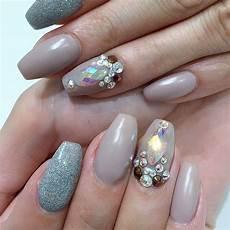 28 pretty bling acrylic nail art designs ideas design